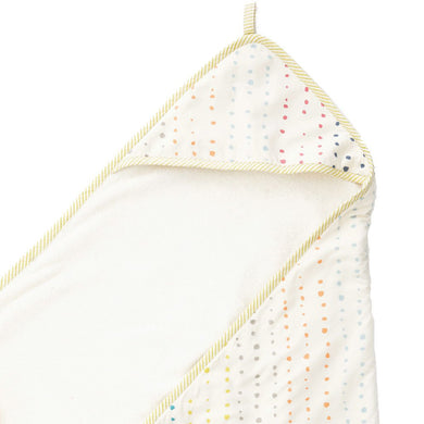 Towel Painted Dots Hooded Towel - Happy Poppets