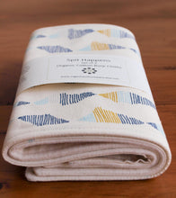 Burp Cloths Organic Cotton Burp Cloths in Relect (Set of 2) - Happy Poppets
