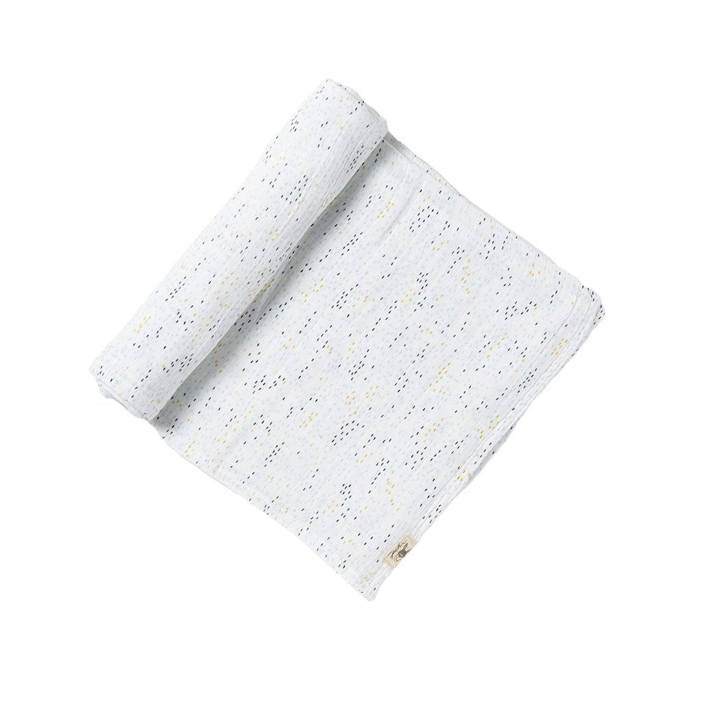 Swaddle Showers Blue Swaddle - Happy Poppets