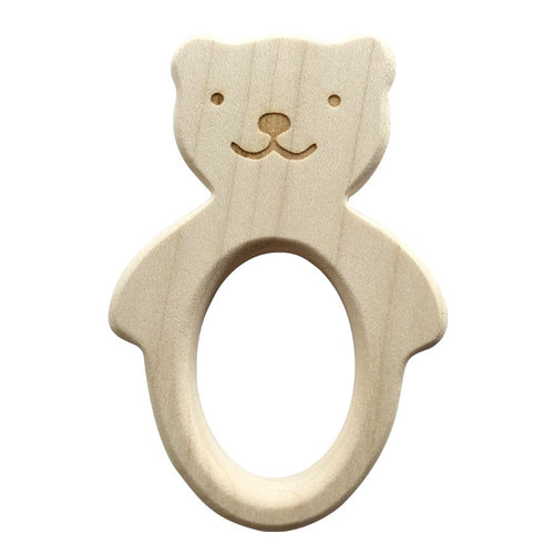 Teether Bear Teething Ring - Happy Poppets