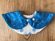 Bib Blue Polka Dots - Happy Poppets