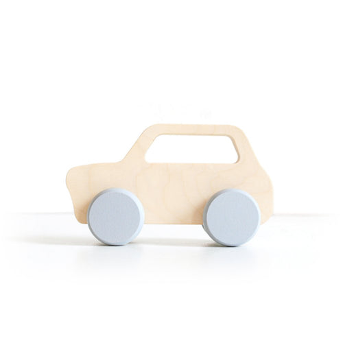 Wooden Toy Wooden Car - Mini - Happy Poppets