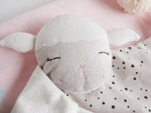 Baby Comforter Snuggly Baby Lamb - Happy Poppets