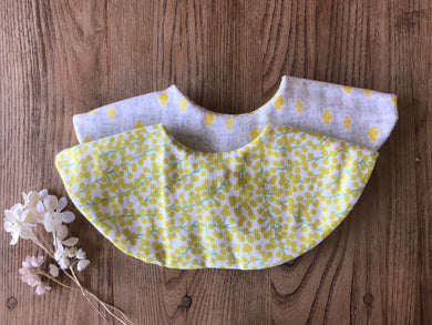 Bib Yellow Mimoza - Happy Poppets