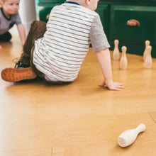 Wooden Toy Toddler Bowling Set - Happy Poppets