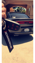 Black Key Chain/ Jet tag