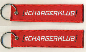 Red Key Chain/ Jet tag