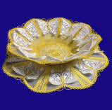E545 3D Butterfly Bowl ($15), Doily($15) and Bowl/Doily Bundle with Organza ($20)