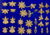 E472 Veronica Charms & Motifs