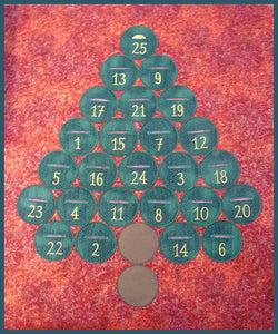 SS029 Free Advent Calendar and Bundles of 5 Ornaments for $8.00 Each.