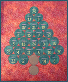 SS029 Free Advent Calendar and Bundles of 5 Ornaments for $8.00 Each or as 1 package for $35.00.