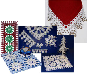 E363 Snowflake Decor Bundle