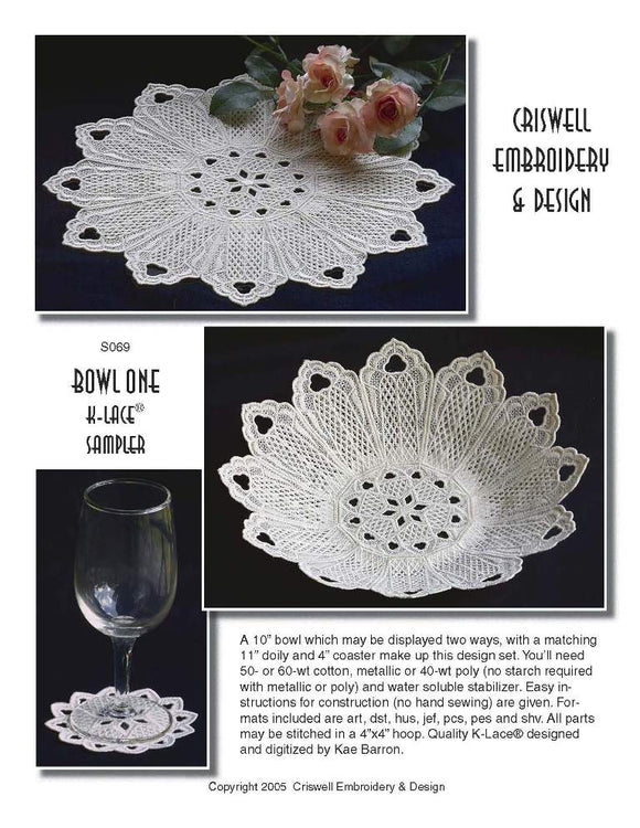 E256 Bowl One Set  K-Lace™