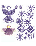 "E265 Tiny Ornaments from ""Mini K-Lace"