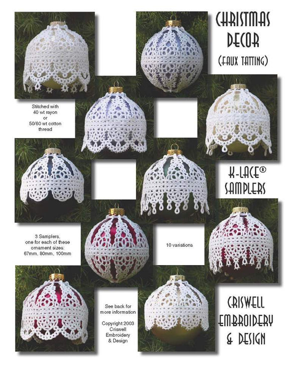 E266 Christmas Decor 67mm, 80mm and 100mm Sets