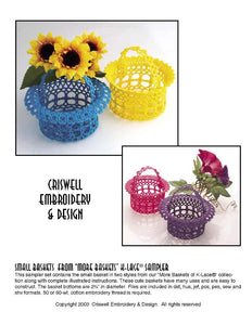 "E310 Small Baskets from ""More Baskets"""