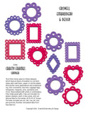 E316 Crafty Frames Sampler