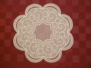 P003 Mother of Pearl Doily