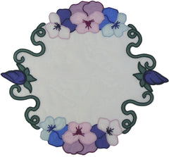 Pansy Table Topper