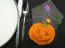 FP006 Pumpkin Napkin Holder