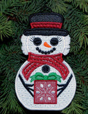 E506 Fabric Snow People