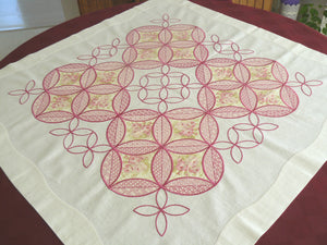 P004 Creative Windows Table Cloth $30.00