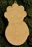 E044 K-Lace® Ornament Bundle $20 (incl. E038 - E044 for $8 each)