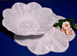 E092 K-Lace™ Gift Card Bag and Angel Bowl 2 and Doily (incl. E089-E091)