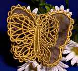 E191 3D Butterfly with Organza K-Lace™