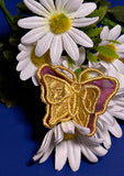 E192 3D Butterflies with Organza (Small)