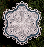 E327 2-Layer In-Hoop 3D Snowflakes For Big Hoops Bundle