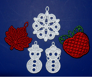E405 Fall/Winter Decor Mini Ornaments