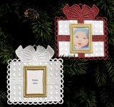 E475 Photo Frame Ornaments (All-in-Hoop)