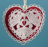 E480 3D Hearts with Organza