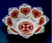 "E512 K-Lace™ Heart Candy Cup (fits 5""x 7"" hoops)"