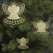 E589 Angel Ornaments (3 sizes)
