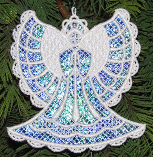 E414 Mylar® Holiday Ornaments with K-Lace™