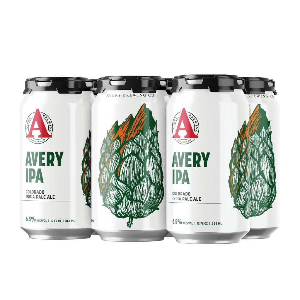 Avery IPA, 6 Pack Cans