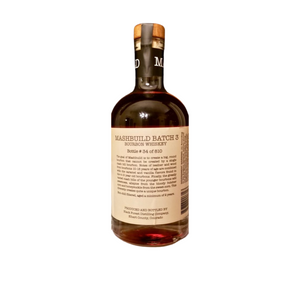 Black Forest Distilling, Mash Build, A Blend of Straight Bourbon Whiskey 750ml