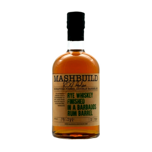 Black Forest Distilling, Mashbuild, Rye Whiskey finished in a Barbados Rum Barrel 750ml
