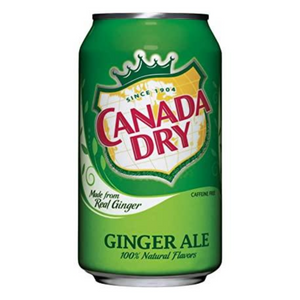 Canada Dry, Ginger Ale, 12oz Can