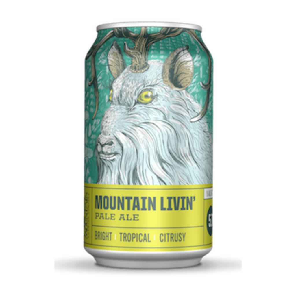 Crazy Mountain Brewing, Mountain Livin Pal Ale, 6 Pack Cans