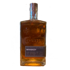 Ironton, Blue Corn Bourbon Whiskey, 750ml