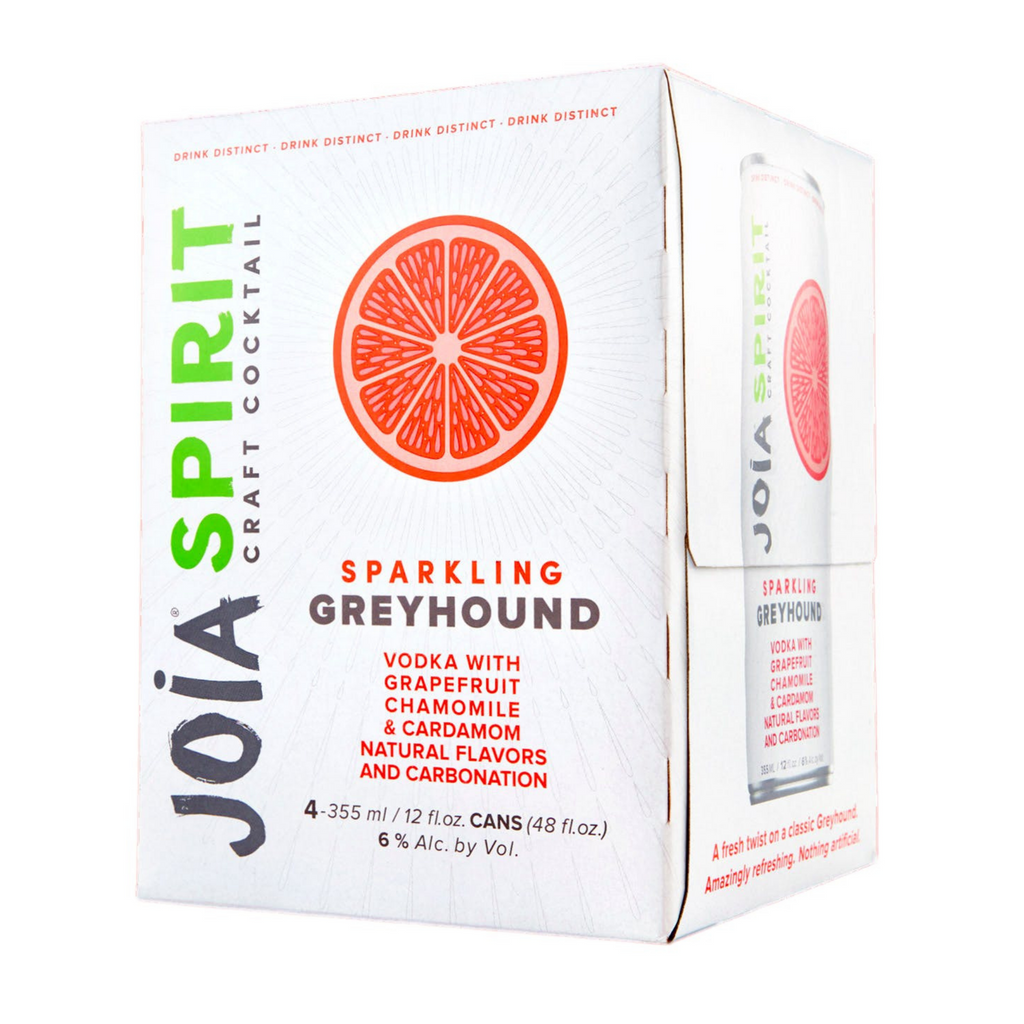 Joia Craft Cocktail, Sparkling Greyhound, 4 Pack 355ml Cans