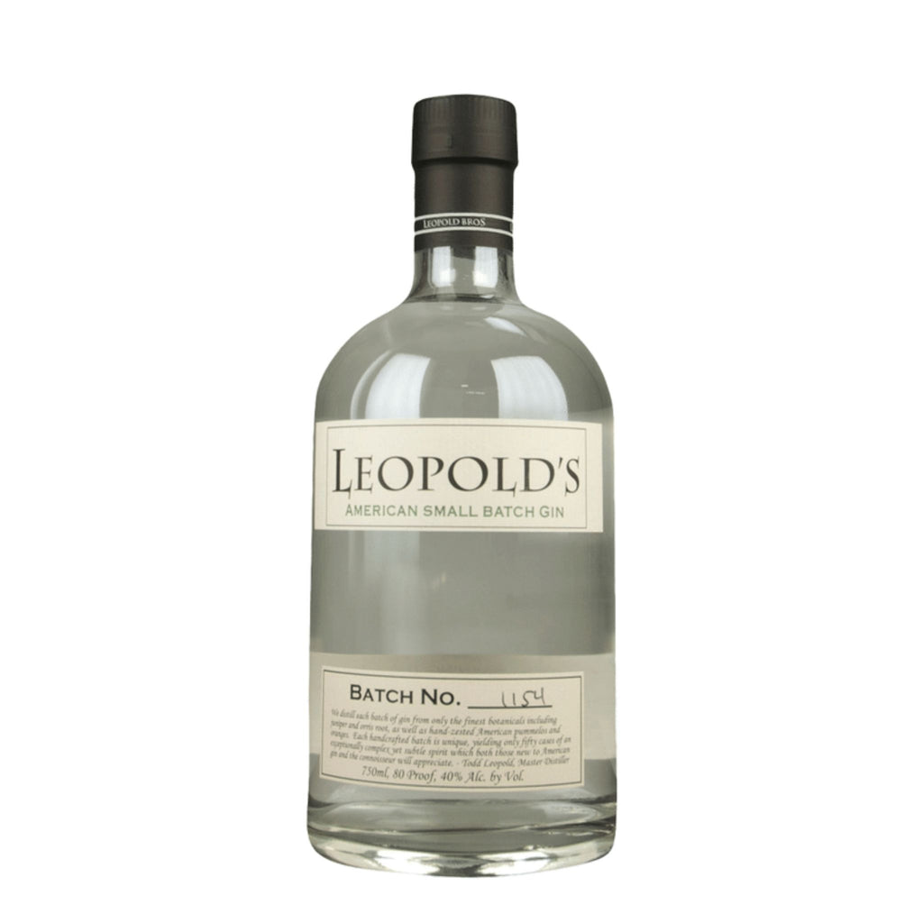 Leopold Brothers Small Batch Gin Bottle