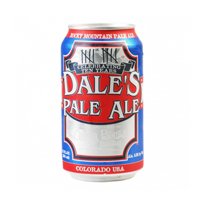 Oskar Blues Brewery, Dales Pale Ale, 6 Pack Cans