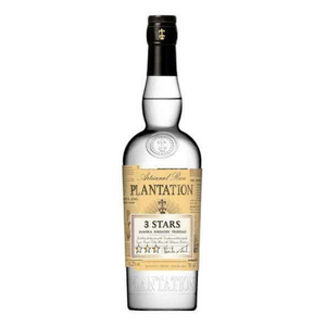 Plantation 3 Stars Jamaica, Barbados, Trinidad, White Rum 750 ml