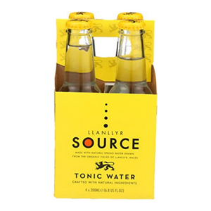 Source, Tonic Water, 4 (200ml) Pack Bottles