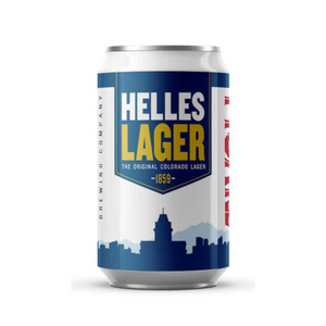 Tivoli Brewing, Helles Lager, 6 Pack Cans