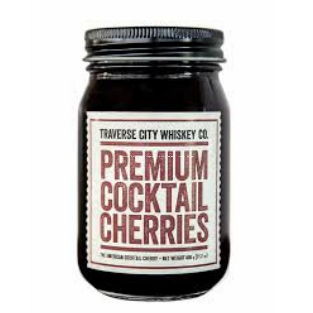 Traverse City Whiskey Company, Premium Cocktail Cherries, 21.2oz